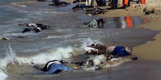 Risultati immagini per Migranti, catena di naufragi in Libia: 114 dispersi in mare per l'Unhcr, 63 per la Marina di Tripoli