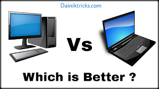 Which is best between laptop and computer