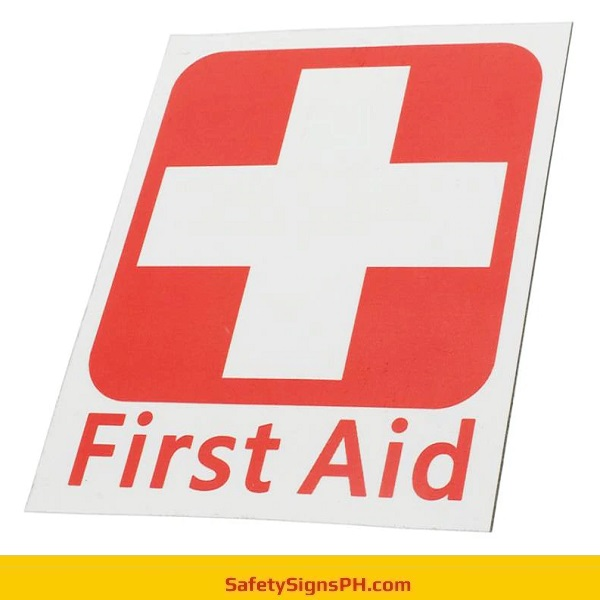 Sintra Board First Aid Sign
