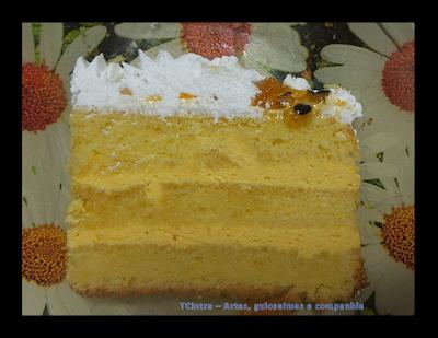 bolo de aniversário; maracujá; recheio de bolo de maracujá; bolo amanteigado de maracujá; cobertura de chantilly para bolo;