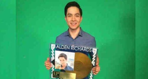 Alden Richards Debut Album Made it to the TOP 10 Chart of Billboard.com