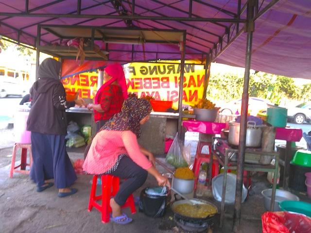 nasi bebek enak di surabaya