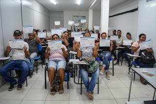 Frentes de Trabalho participam de capacitação em Registro-SP