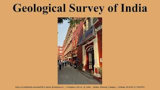 GEOLOGICAL SURVEY OF INDIA DIGITIZATION WORK
