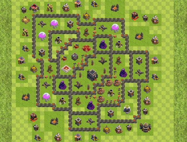 Base War TH 9 Terbaru Dan Terkuat