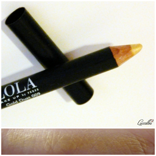 Delineador Gold Dust de Lola Make Up