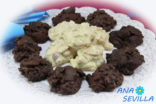 Rocas o petras con aceite de oliva cocina tradicional Ana Sevilla