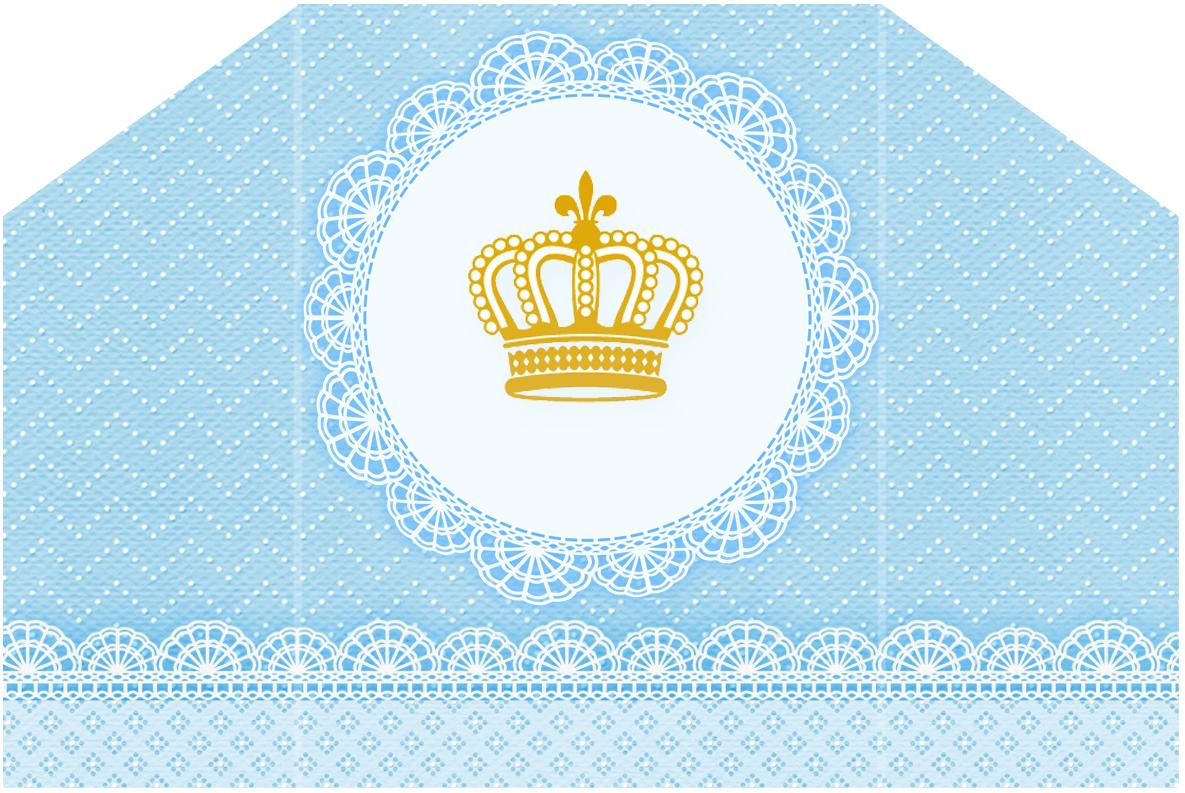 Kit Digital Gratuito Para Imprimir Coroa De Príncipe Azul