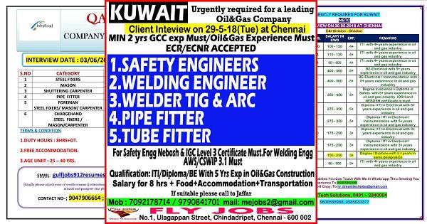 Kuwait Oil Company Jobs For Freshers | ImgBos com