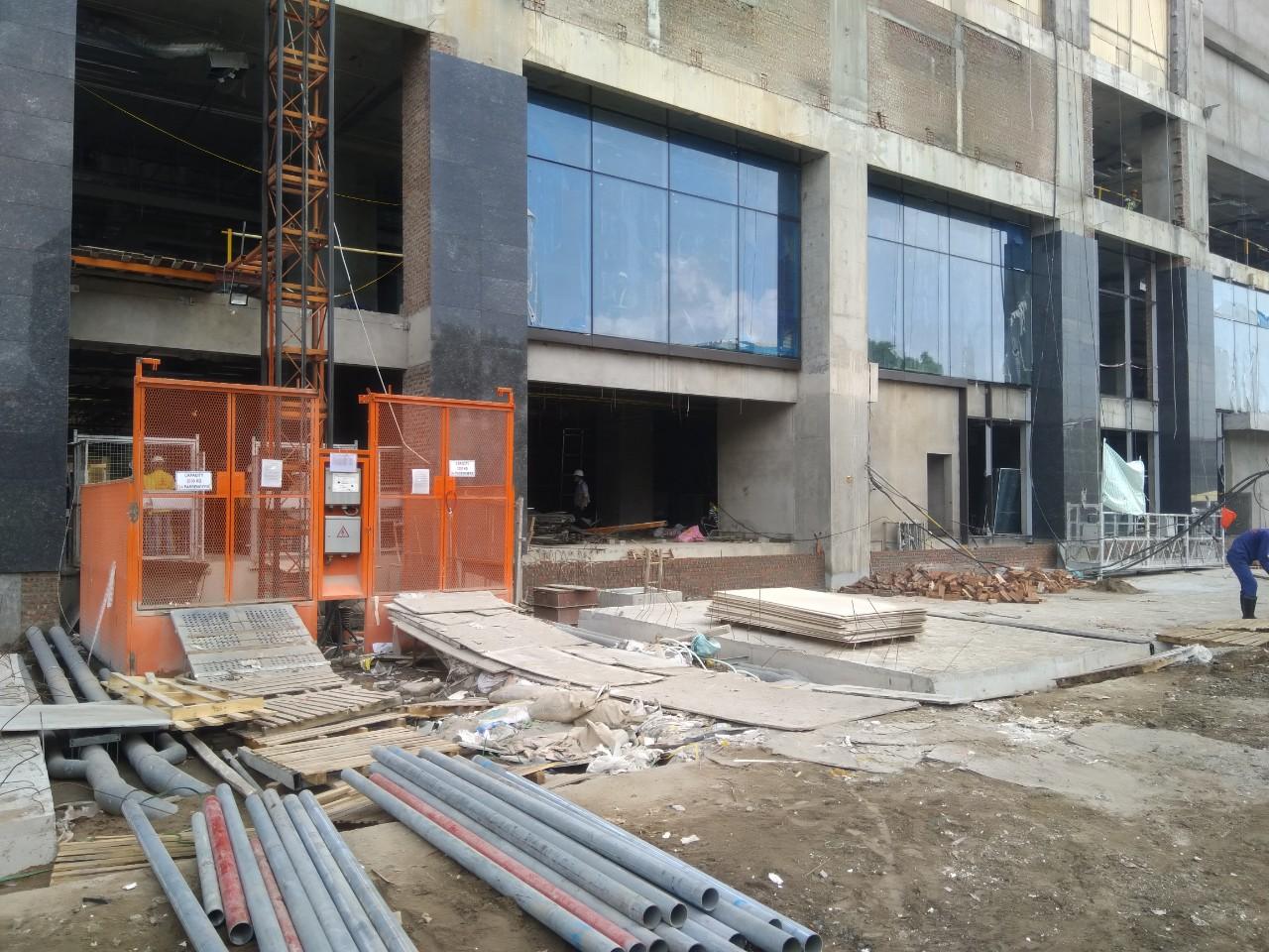 Hình ảnh tiến độ thi công Sun Grand City Ancora tháng 8/2018