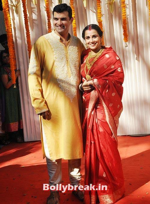 Siddharth Roy Kapur and Vidya Balan, Bollywood's secret Marriages