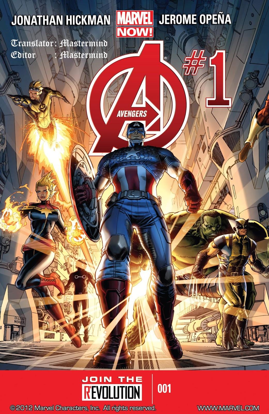 Komik Amerika Bahasa Indonesia: Avengers #1