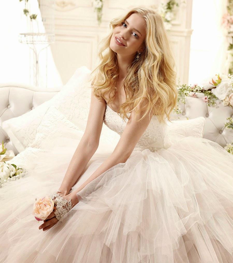 abiti sposa 2015 Colet per matrimoni in stile shabby chic di tendenza
