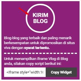 Cara Daftar dan Sumbit Artikel ke Vivalog