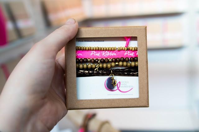 Pink Ribbon, Buchmesse, Brustkrebs, Frankfurt, Pink Ribbon Armband
