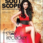 Ileana on the cover of Southscope Jan 2012