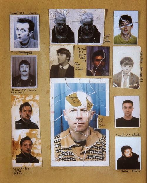 Album photo de Nino Quincampoix dans Le Fabuleux destin d'Amélie Poulain, de Jean-Pierre Jeunet (2001)