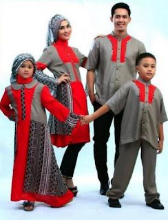 Busana lebaran batik modern