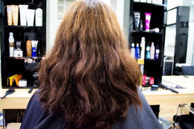 Состояние волос Насти до процедуры Pro Fiber