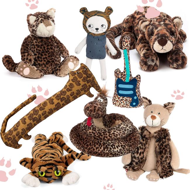 luipaard knuffels