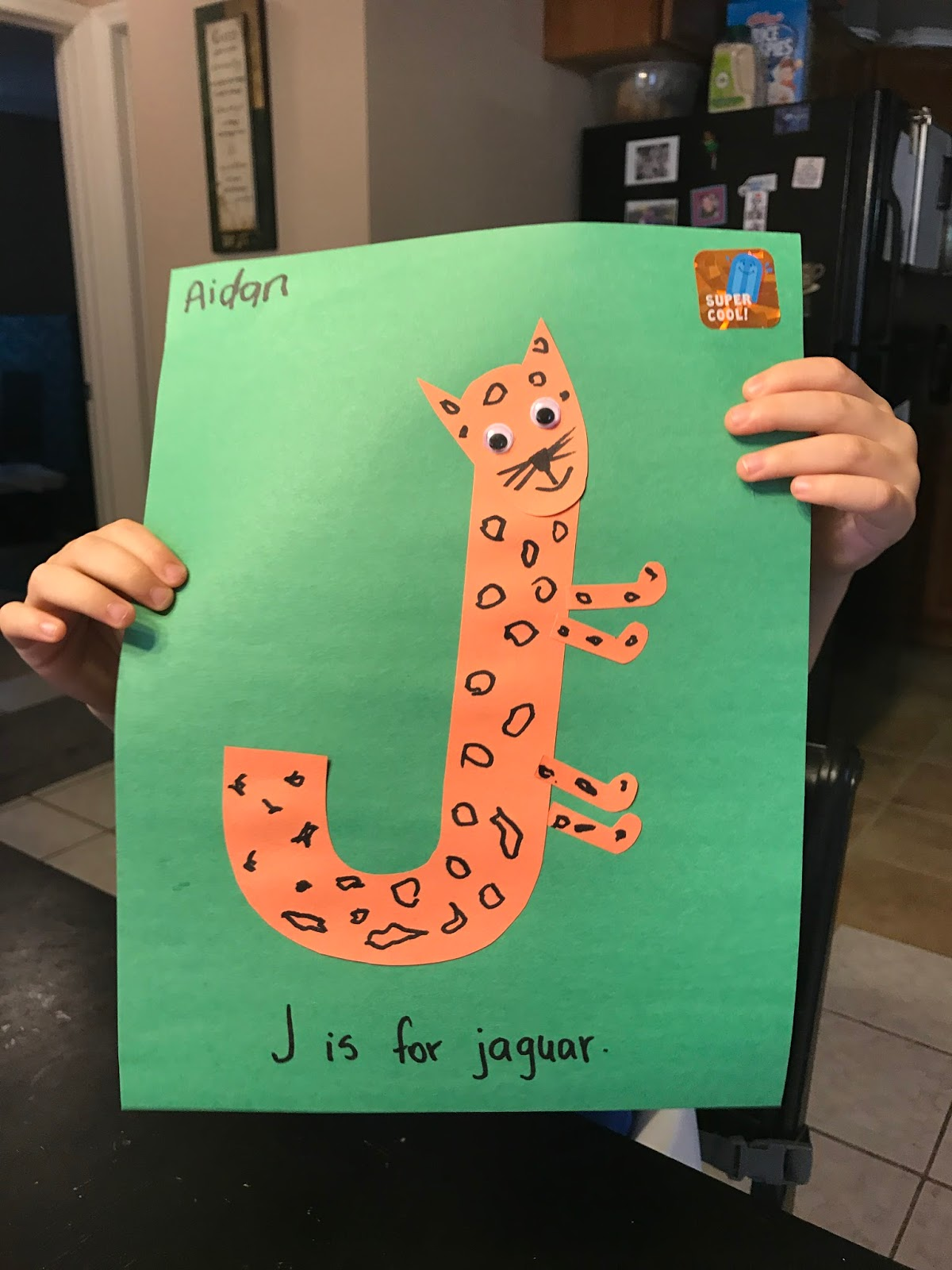 Serendipitous Discovery Toddler Fun Week 15 Letter J
