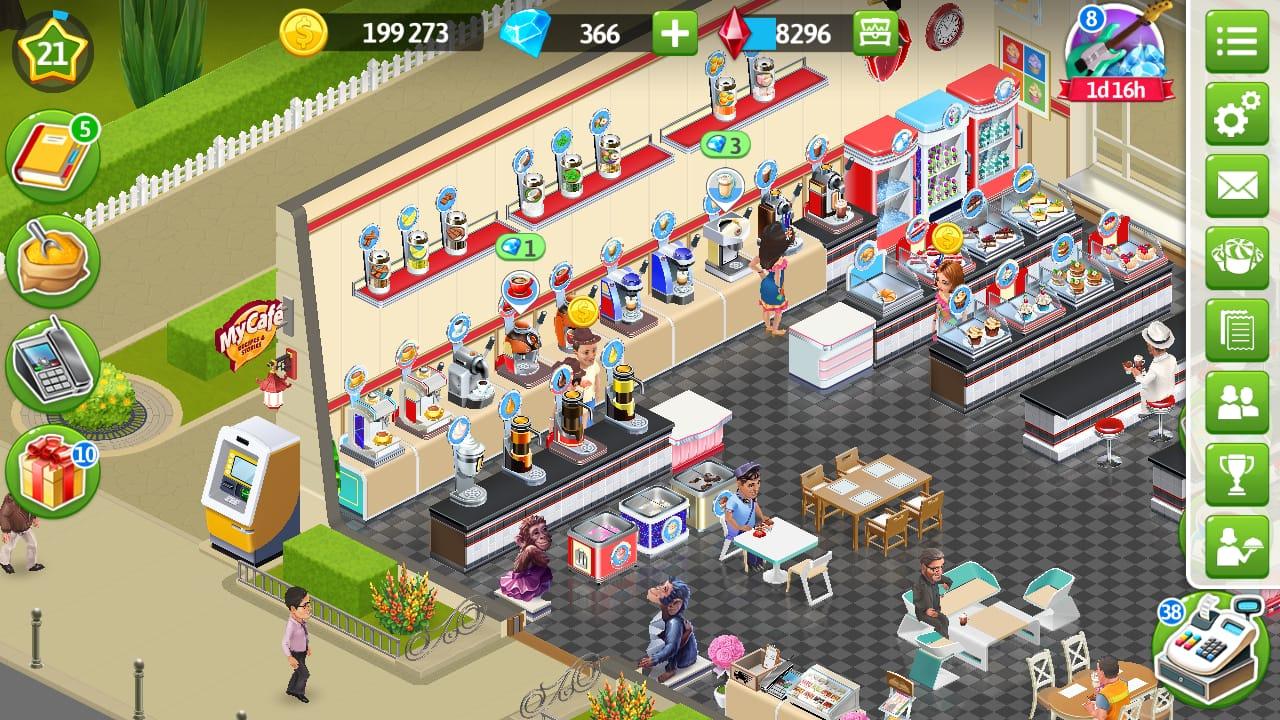 Resep Menu Game My Cafe