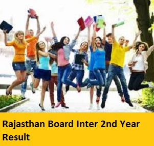 Rajasthan Board Inter 2nd Year Result 2017