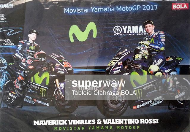 Poster Maverick Vinales & Valentino Rossi