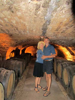 Pat Wayne Dunlap Wine Cellar Cave Burgundy Cote d'Or France