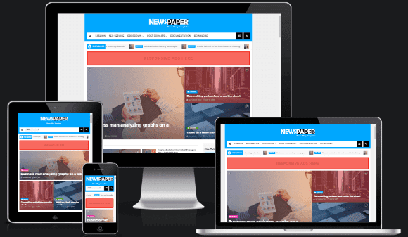 NewsPaper News Blogger Template for free