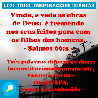 021-IDD1- Ideia do Dia 1