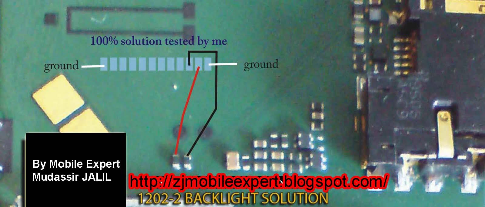 Nokia 1202  1661  5030  1203 Back Light Problem Solution