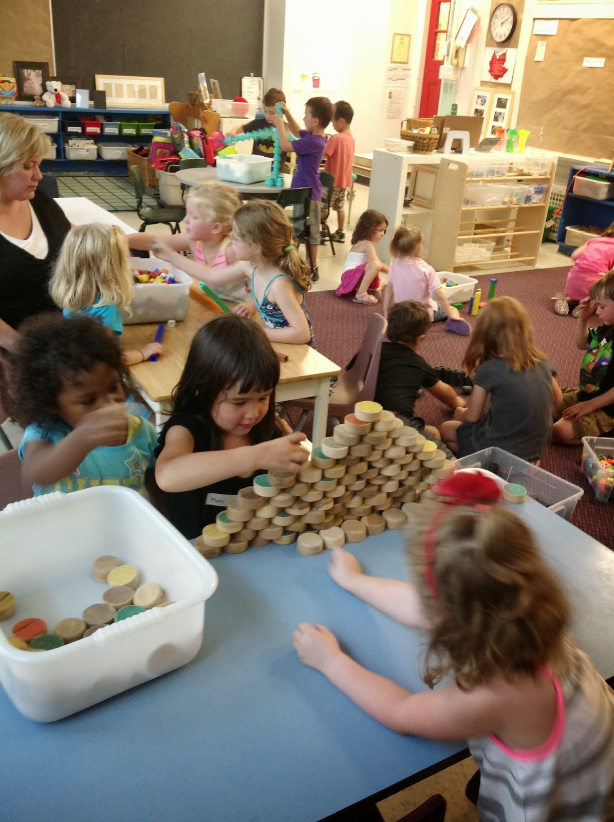 Kinder Garden: Wonders In Kindergarten: A Glance At Our First Few Weeks
