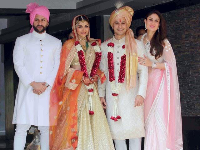 Soha Ali Khan, Soha Ali Khan Kunal Khemu Marriage Pics Album