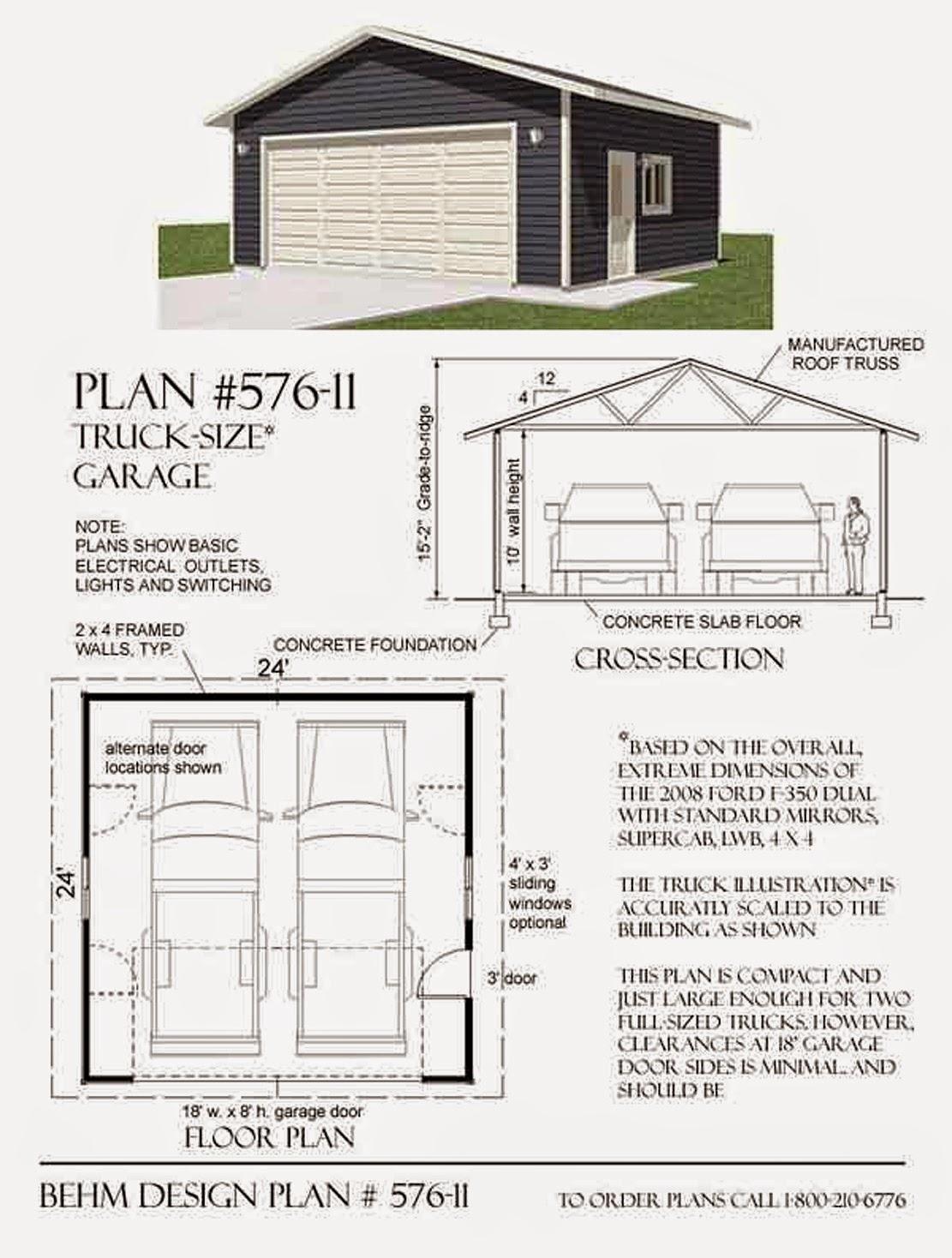 Garage Plans Blog Behm Design Garage Plan Examples Plan 57611 – Basic Garage Plans