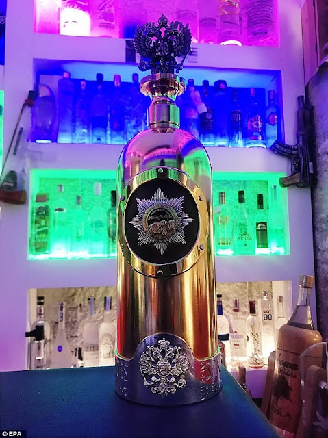 WORLD MOST EXPENSIVE VODKA WORTH $1.3M GOES MISSING AT A BAR