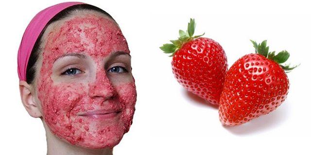 cilek maskesinin faydasi -  çilek maskesinin cilde faydaları - KahveKafeNet