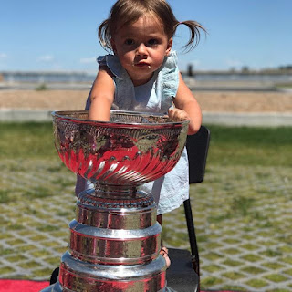 LaRosee S Daughter With The Stanley Cup