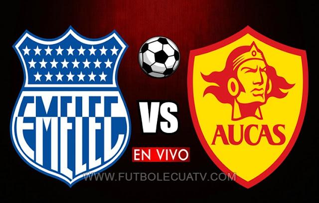 Emelec y Aucas se enfrentan en vivo desde las 18:00 hora local por la fecha 16 del campeonato ecuatoriano a efectuarse George Capwell, teniendo como árbitro principal a Diego Lara con transmisión del canal autorizado GolTV Ecuador.