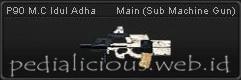 Senjata PB P90 M.C Idul Adha