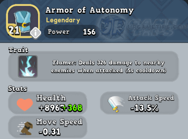 World of Legends - Armor of Autonomy