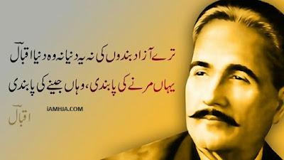 allama iqbal poetry for pakistan