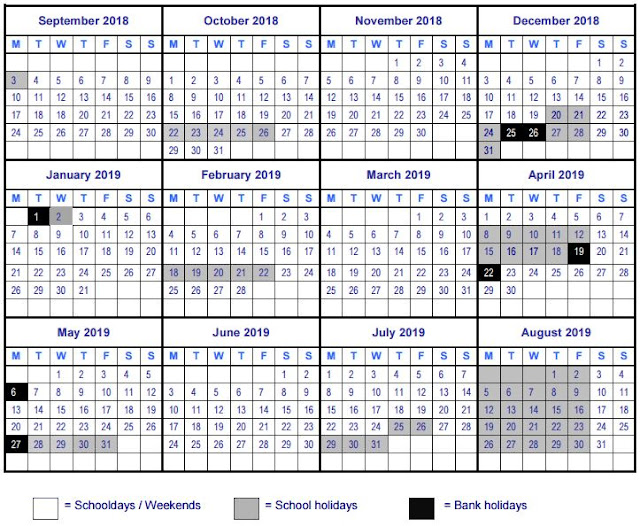 UAE School Holidays 2018