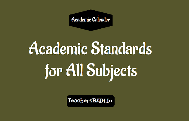 academic standards,telugu,english,mathematics,health and physical education,art and cultural education,work and computer education,value education and life skills, class wise academic standards