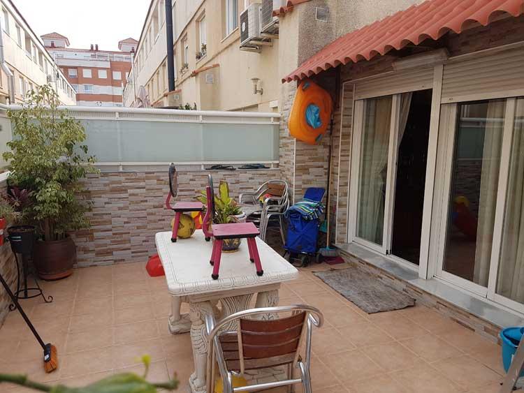 venta de chalet unifamiliar paseo de gata grao castellon terraza1