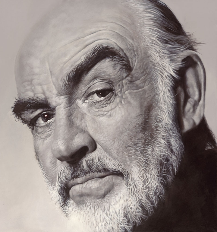 Sean Connery - New Pop Realism - Sebastian Krüger 1963
