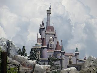 Beast Castle Magic Kingdom Disney World