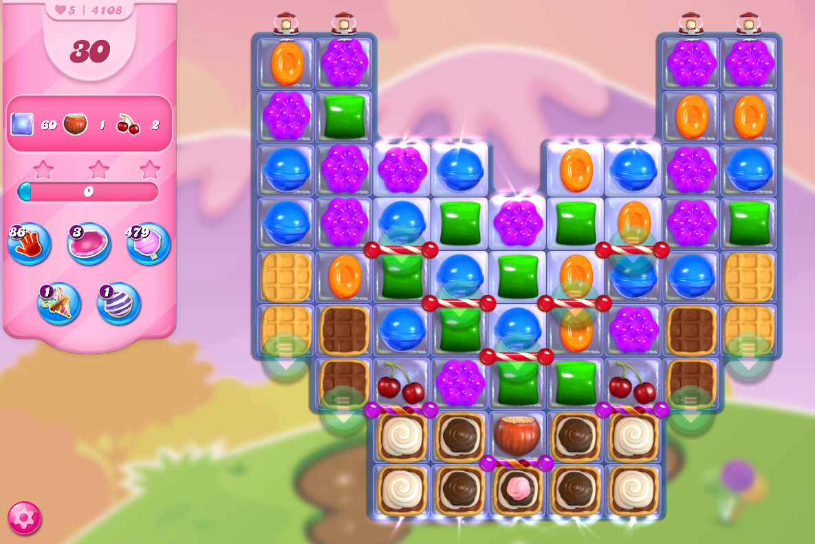 Candy Crush Saga level 4108