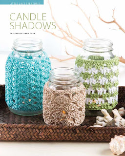 Candle Shadows - Easy, Breezy Crochet Lace cover - book review on CGOANow!