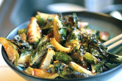 Uchiko Brussel Sprout Recipe